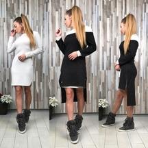 Платье женское с туникой
